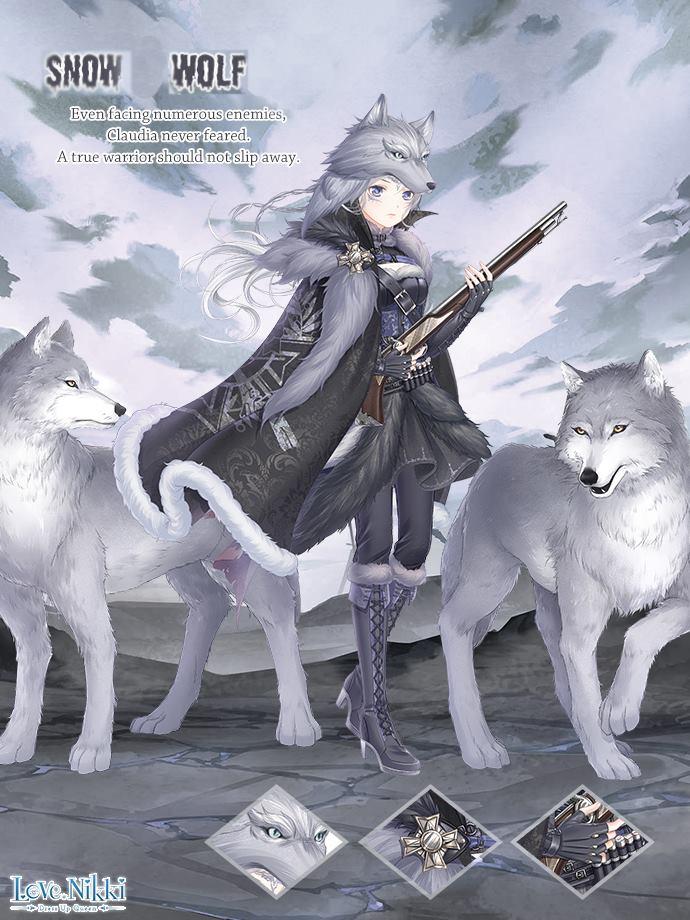 Snow Wolf Love Nikki Dress Up Queen Wiki Fandom