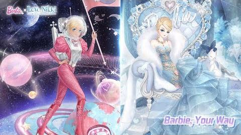 Love Nikki-Dress Up Queen Barbie, Your Way