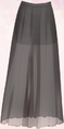 Black Yarn Skirt