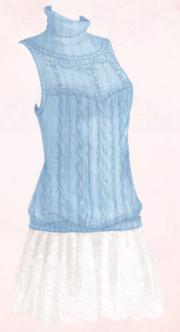 Rabbit Fur Dress