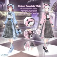 Wish of Porcelain White