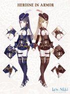 Heroine in Armor Customization