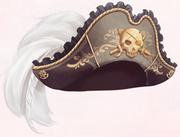 Skeletons Pirate Hat