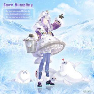 Snow Dumpling
