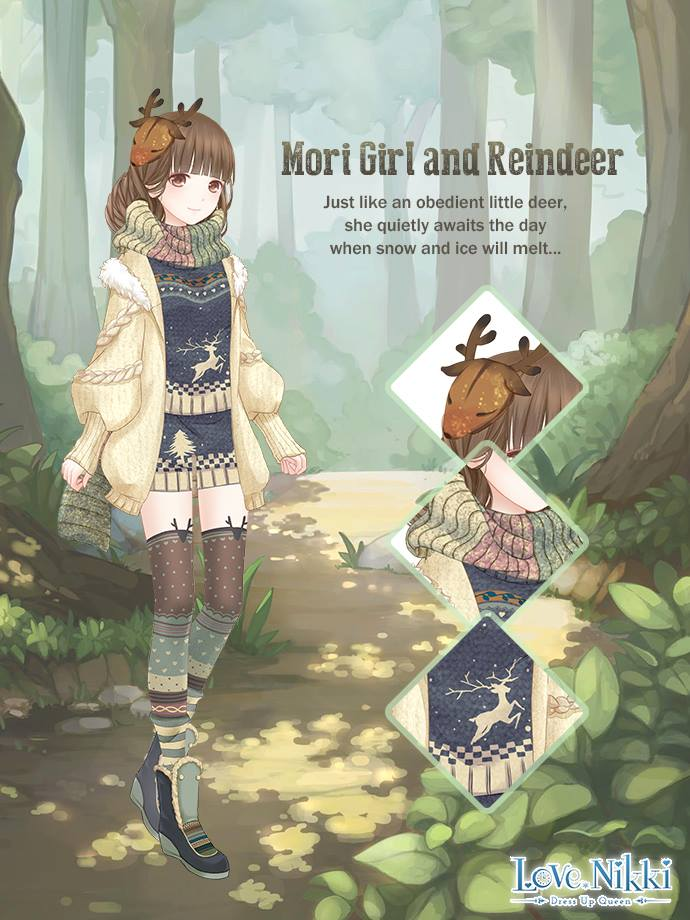 Mori Girl And Reindeer Love Nikki Dress Up Queen Wiki