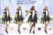 Hip-Hop Queen Alternative Skins
