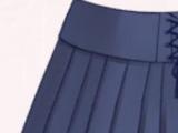 Blue Corset Skirt