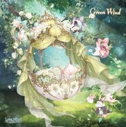 Green Wind close up 2