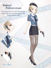 Federal Policewoman