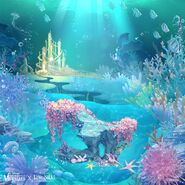 The Little Mermaid background