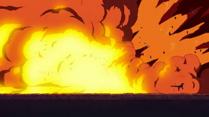 Muggy Ball explosion