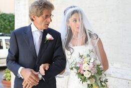 Bride-and-Father-of-the-Bride-are-waiting-for-the-entrance