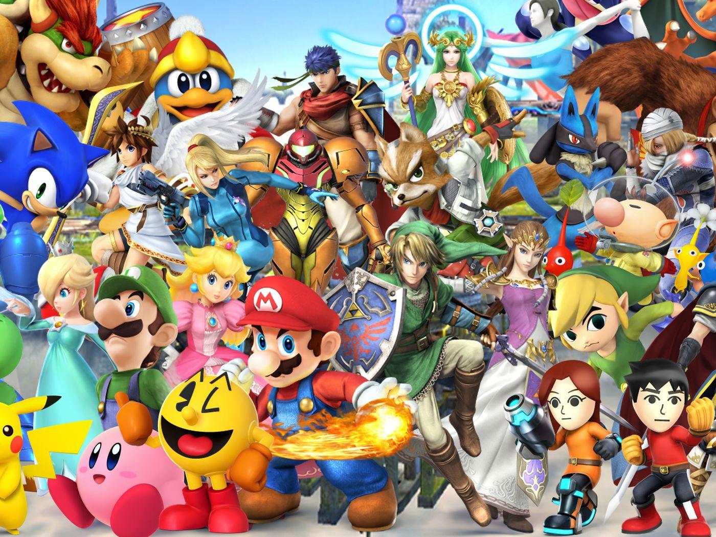Super Smash Bros Under Fire: The Great Adventure Saga ...