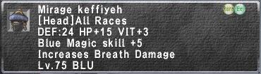 Mirage Keffiyeh