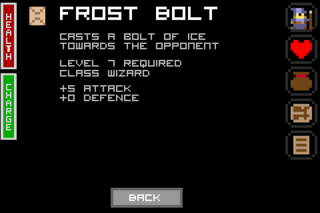 Frost bolt