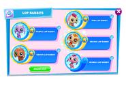 LittlestPetShopCollectionLoppedRabbit5Variations