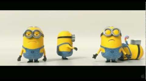 Despicable Me 2 Trailer - Banana and Potato Song (with lyrics)