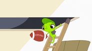 Vinnie with football