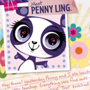Lolly ling postcard