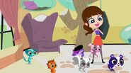Blythe and pets proud Vinnie came back