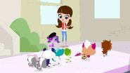Pets run past Blythe