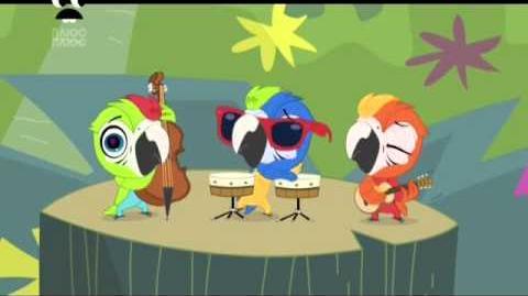 Littlest Pet Shop - Song of Brazil Ukrainian