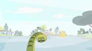 Steve in the river