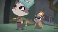Opossum and Rat