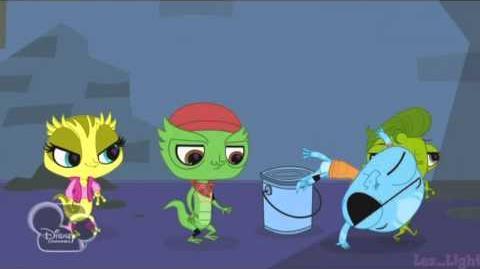 Littlest Pet Shop - Gotta get to the Studio! (Español de España) -720p- (letra en desc
