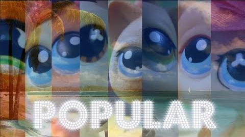 Littlest Pet Shop Popular (Season 2 Opening Sequence) WATCH IN 3D!-0