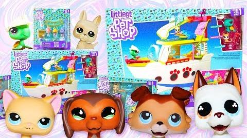 "BRAND NEW LITTLEST PET SHOPS - LPS Popular Special ""ABANDON SHIP!"" 🏝 - HUGE UNBOXING"