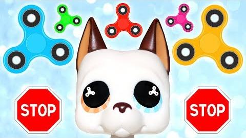 LPS 🚫 STOP SAYING MY EYES LOOK LIKE FIDGET SPINNERS 🚫 - Tom's Vlogs
