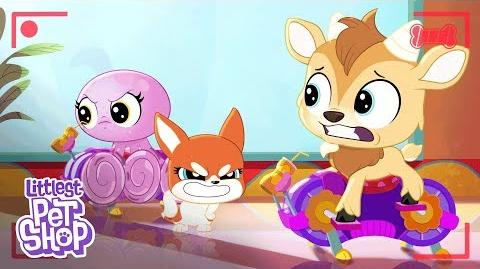 LPS- A World of Our Own - 'Welcome to Spin Class' 🐙 Digital Short