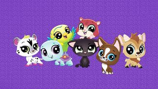 LPS AWOO Main Cast