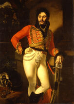 Orest Kiprensky - Portrait of Life Guard Colonel Yevgraf Davydov - Google Art Project