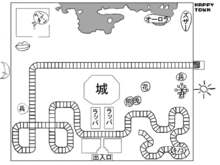 Happy Town Map