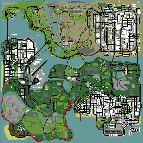 San Andreas State Route 1