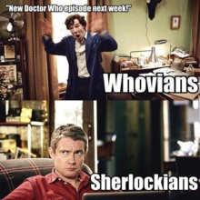 New dr who episode according to sherlockians.