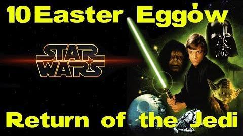 10 Easter Eggów w Gwiezdne Wojny Powrót Jedi feat. Yako
