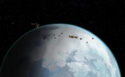 Snow-planet