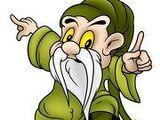 Mały zielony dziadek