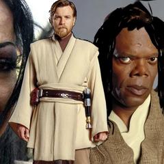 Donata, Obi-Wan, Leia i Padmé Kenobi.