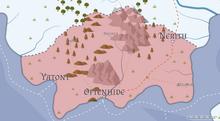 Mapa Sirga