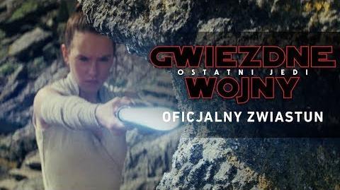 Gwiezdne wojny Ostatni Jedi - zwiastun napisy