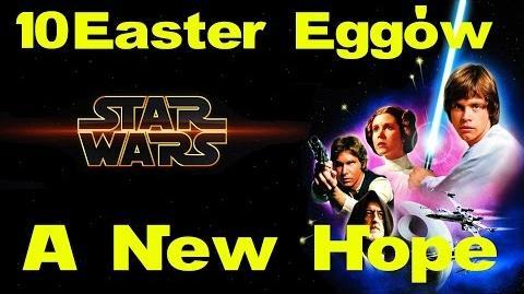 10 Easter Eggów w Gwiezdne Wojny Nowa Nadzieja feat. Yako