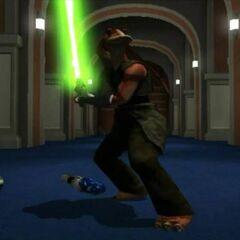 Feel w świątyni Jedi.