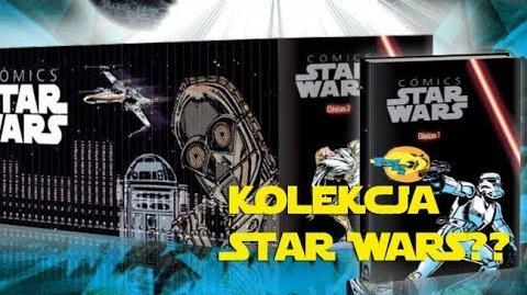 Kolekcja komiksów Star Wars?
