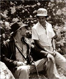 Harrison Ford and Chandran Rutnam in Sri Lanka