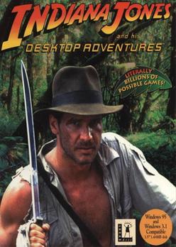Indiana Jones and His Desktop Adventures Coverart