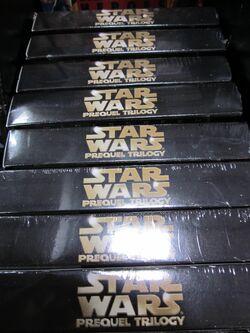 Star Wars Prequel Trilogy DVD box set at Costco, SSF ECR